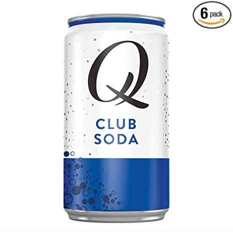 Q Mixers Club Soda, Premium Club Soda, 7.5 Fl oz, 24 Cans