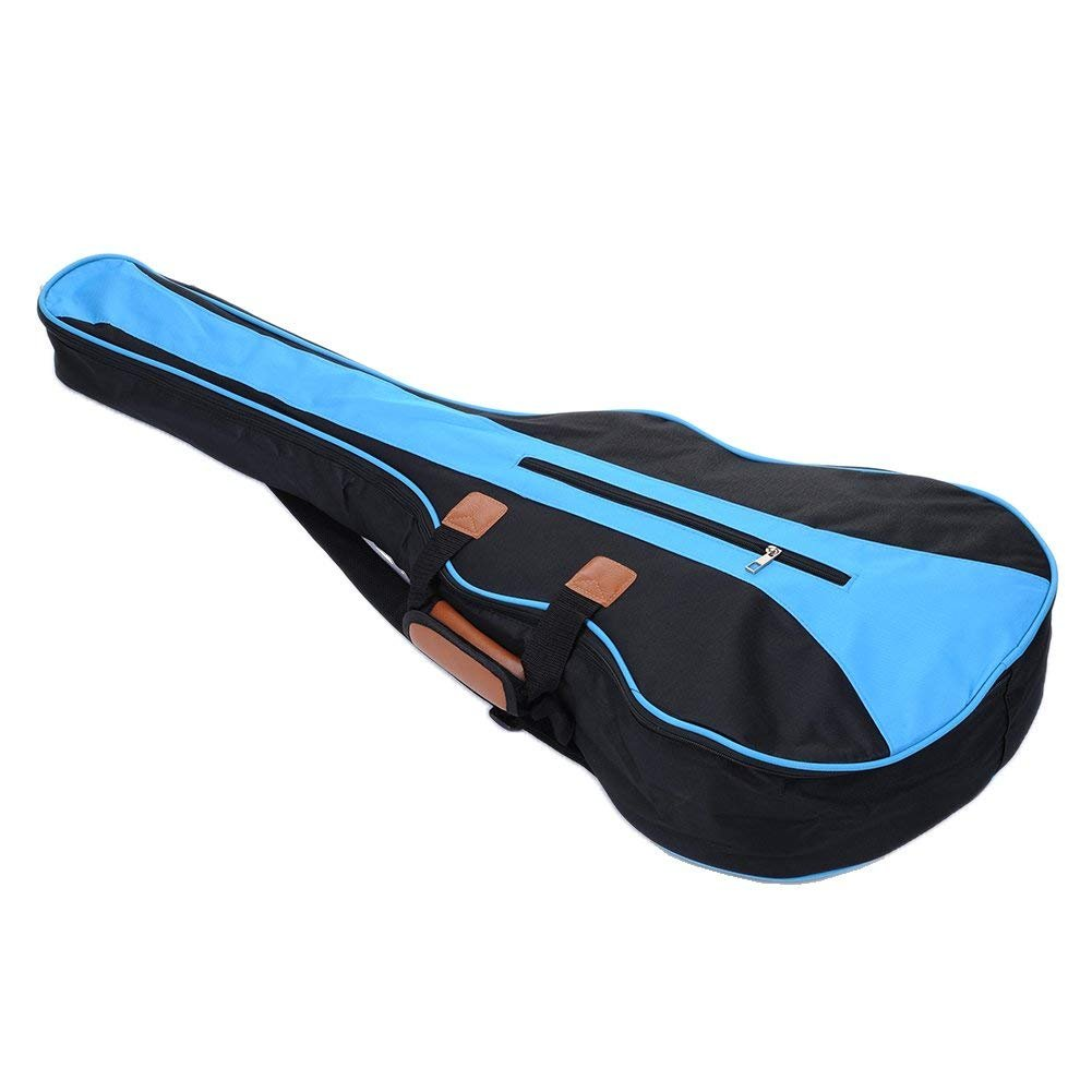 36inch Blue Deluxe Guitar Bag Waterproof Dual Adjustable Shoulder Strap Gig Bag Backpack Cover Case for Acoustic Guitar - Acoustic Guitar Gig Bag XMLIFE 1