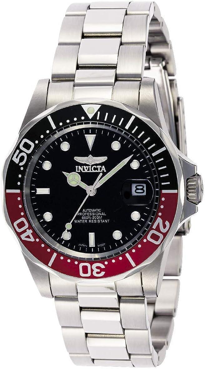Invicta 9403 Pro Diver Reloj Unisex acero inoxidable Automático Esfera negro