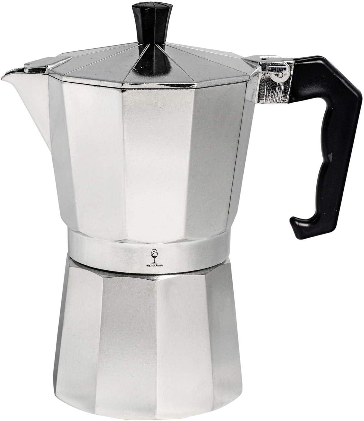 Cafetera Espresso al estilo italiano - Diseño tradicional - 6 tazas: Amazon.es: Hogar