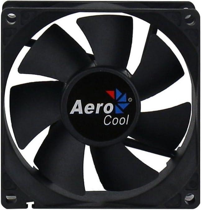 Nero Aerocool Dark Force Ventola da 80 mm