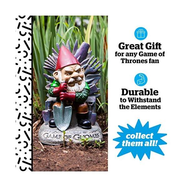 Big Mouth Inc. Game of Gnomes Garden Gnome , Comical Garden
