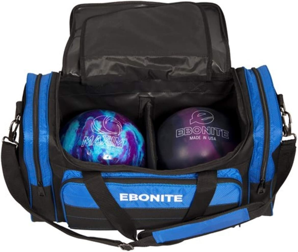 EMAX Bowling Service GmbH MAXIMIZE YOUR GAME Conquest Sac /à Chaussures Double Tote Multi Sac /à Chaussures pour Deux Boules de Bowling et Chaussures de Bowling