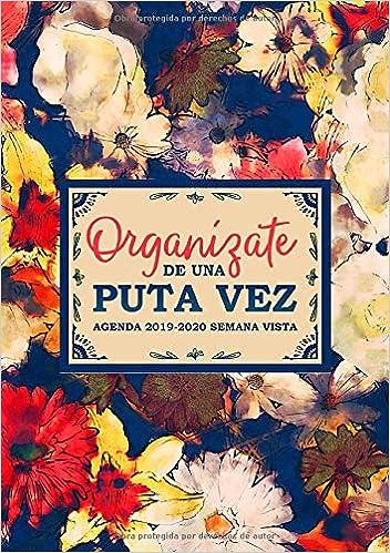 Organízate de una puta vez: Agenda 2019-2020 semana vista ...