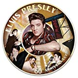 Elvis Presley 60th First Number 1 Record Porcelain Collector Plate by The Bradford Exchange