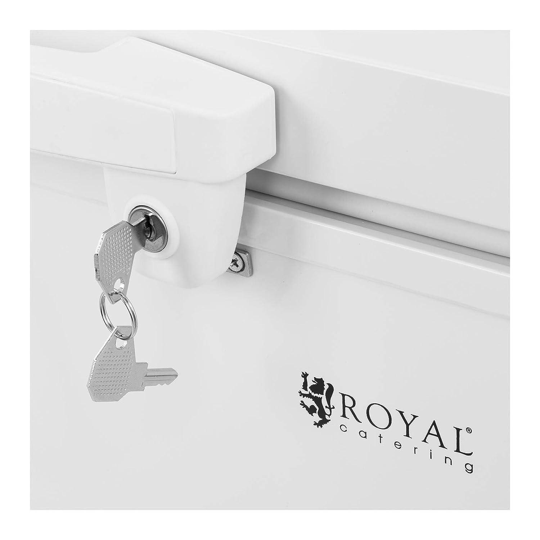 Royal Catering Arcón Congelador Profesional RCFZ-152 (152 L, A+ ...