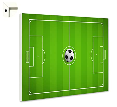 B Wie Bilder De Magnettafel Pinnwand Memoboard Mit Motiv Fussballfeld Grosse 100 X 80 Cm