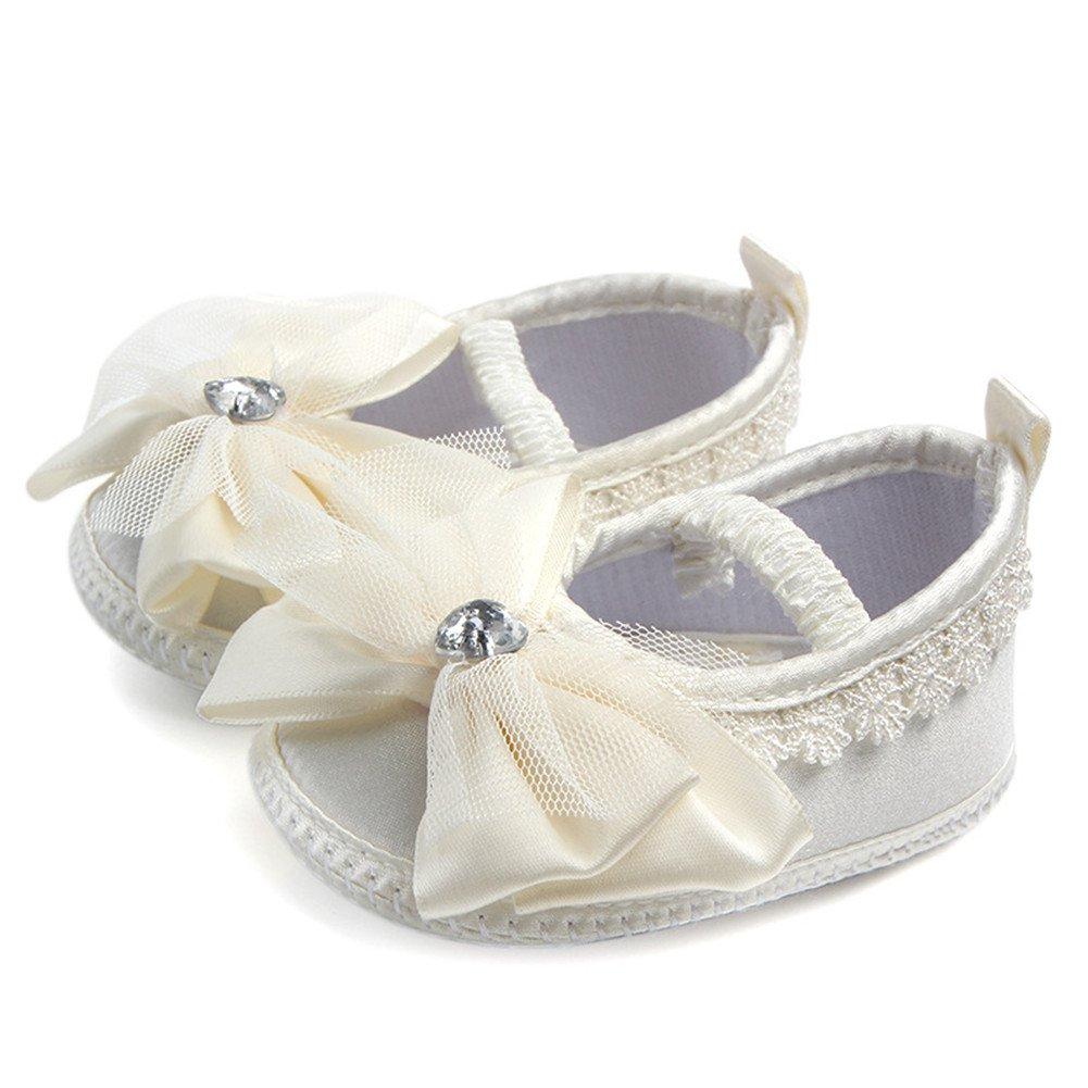 Amazon.com: aorme Zapatos Infant bebé para bautizo bautismo ...