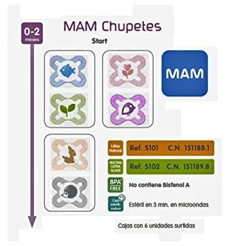 Chupete Start Latex 0-2 Meses: Amazon.es: Juguetes y juegos