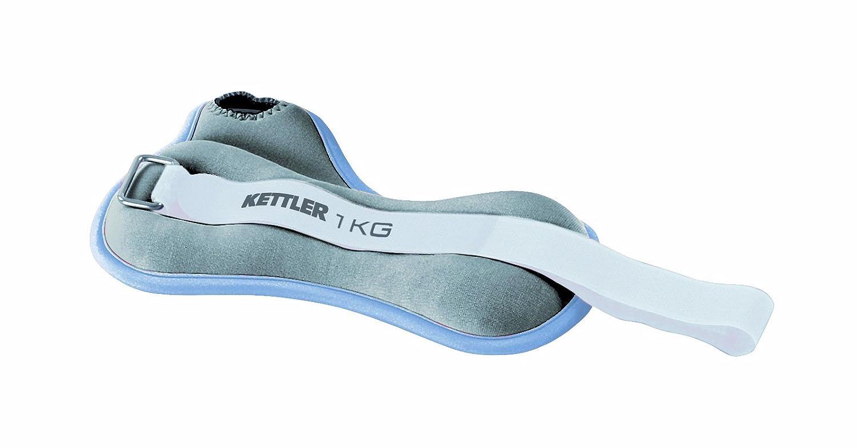 Kettler 7361-410 2 Bracelets lestés Gris 2 x 1 kg 07361-410