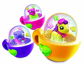 amazon glitzi globes carnival theme pack of 3 toyland