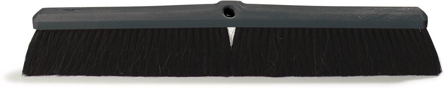 Carlisle 4056100 Foam Floor Sweep, Blended Horsehair Bristles, 3'' Trim x 2-5/8'' Width Bristle, 18'' Length by Carlisle
