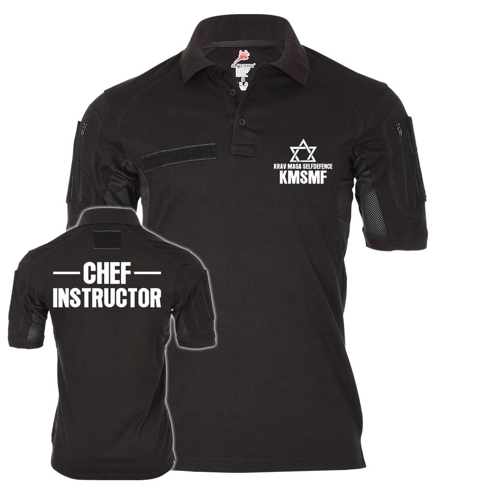 Tactical Polo Chef Instructor Krav Maga 24328 KMSMF  24328 Maga c6f942