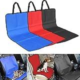 E-Fly ペット用 ドライブシート 助手席用 犬 ドッグ ペット カーシート カバー 滑り止め 防水 抜け毛 お出かけ 車載シート (Black)