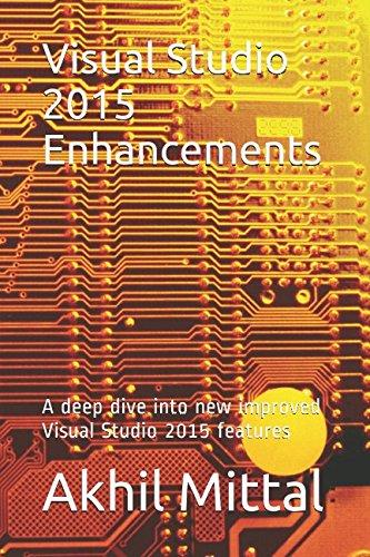 Visual Studio 2015 Enhancements: A deep dive into new improved Visual Studio 2015 features