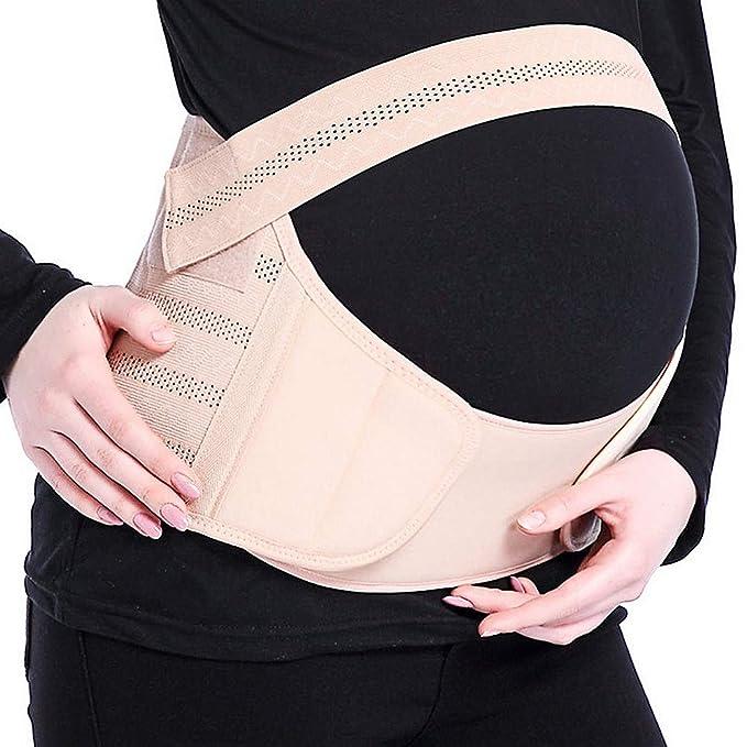 Vococal - 3 en 1 Cinturón de Apoyo para Embarazo,Respirable Faja Embarazada Cinturon Aliviar