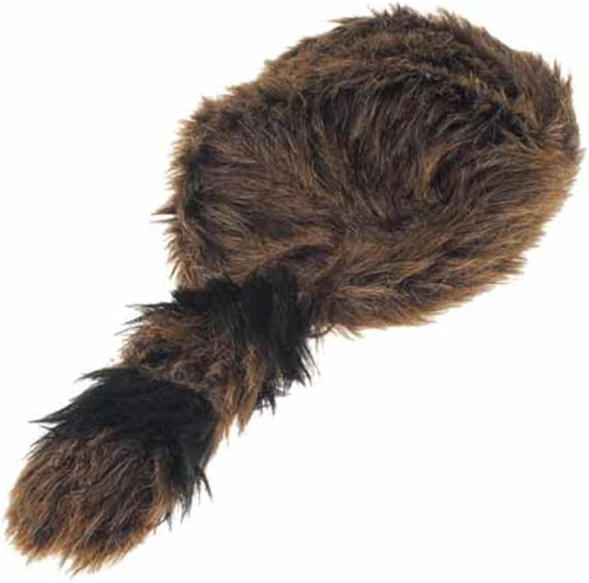 US Toy Faux Fur Classic Raccoon Tail Hat