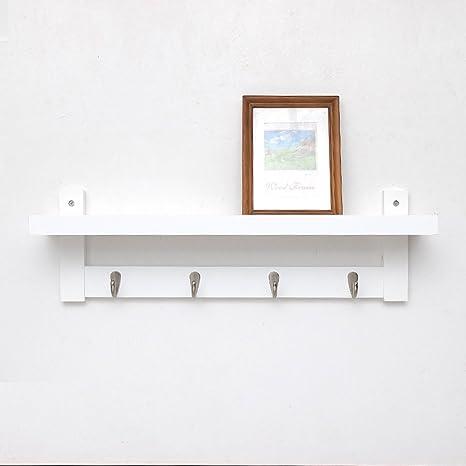 Suspensiones de pared de estilo japonés, perchero de madera ...