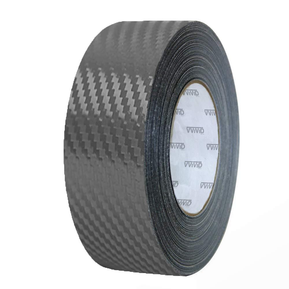 Blue VViViD Dry Carbon Fibre Detailing Vinyl Wrap Tape 2 Inch x 20ft Roll DIY