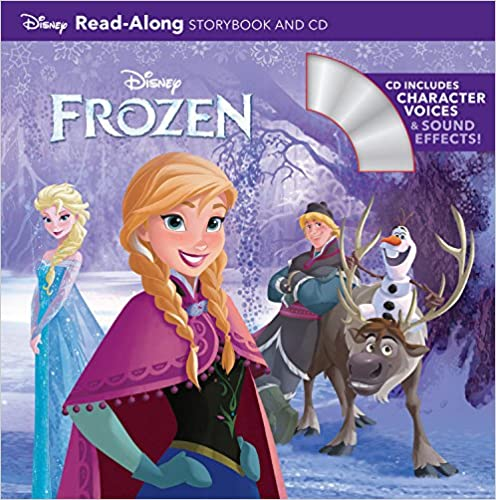 Frozen Read-Along Storybook and CD (英語)の書影