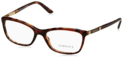 42fb0f3f5203f Amazon.com  Versace Women s VE3186 Eyeglasses 52mm  Shoes