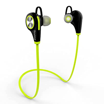 Auriculares Inalámbrico Bluetooth 4.1, Tevina Headphones Deportivo con Micrófono Resistente