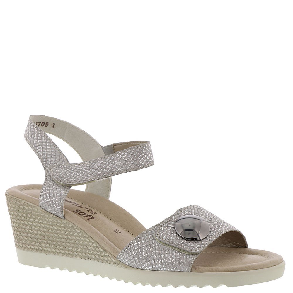 Remonte Marilyn 64 Women's Sandal B079QSRD6C 39 M EU|Silver-metallic