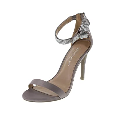 53455dfe5e3 Christian Siriano for Payless Taupe Women s Collins Jewel Dress Sandal 5  Regular