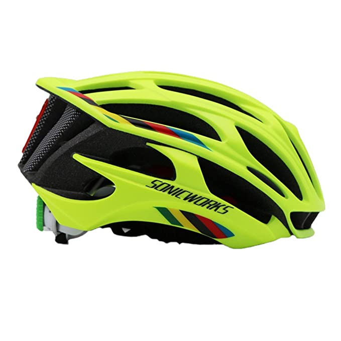 Amazon.com : Bicycle Helmet Cover With Led Lights Mtb Mountain Road Cycling Bike Men Women Capaceta Da Bicicleta Black L : Sports & Outdoors