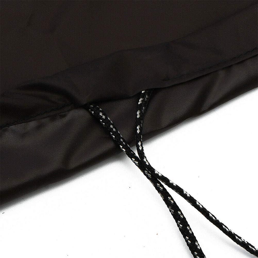 Funda para mesa de billar negro tela Oxford para billar impermeable Tama/ño libre Dengofng 245 x 140 x 20 cm No nulo