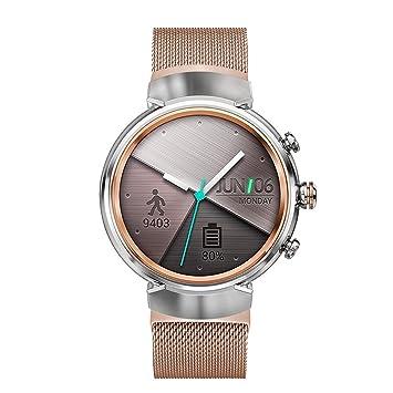 Vicara pour Asus ZenWatch 3 Band, Milanaise Boucle Bracelet de montre en acier inoxydable à libération rapide de remplacement Bracelet homme femme pour Asus ...