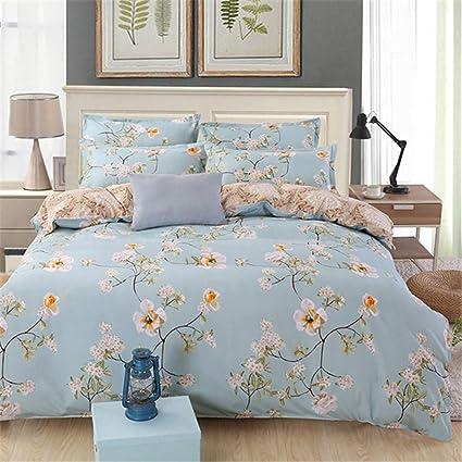 ec94a307c417 CHSLRER 3 4 Pcs Bedding Set Soft Cotton Bed Linen Couple Full Queen King  Size