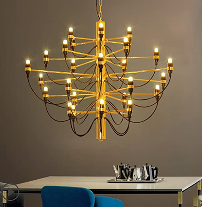 Siminda Chandelier Gino Sarfatti Pendant Lamp Lights Ceiling Lighting 18 Gold Com