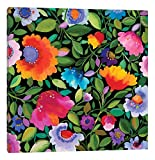 iCanvasART India Garden Canvas Print by Kim Parker, 12'' x 12''