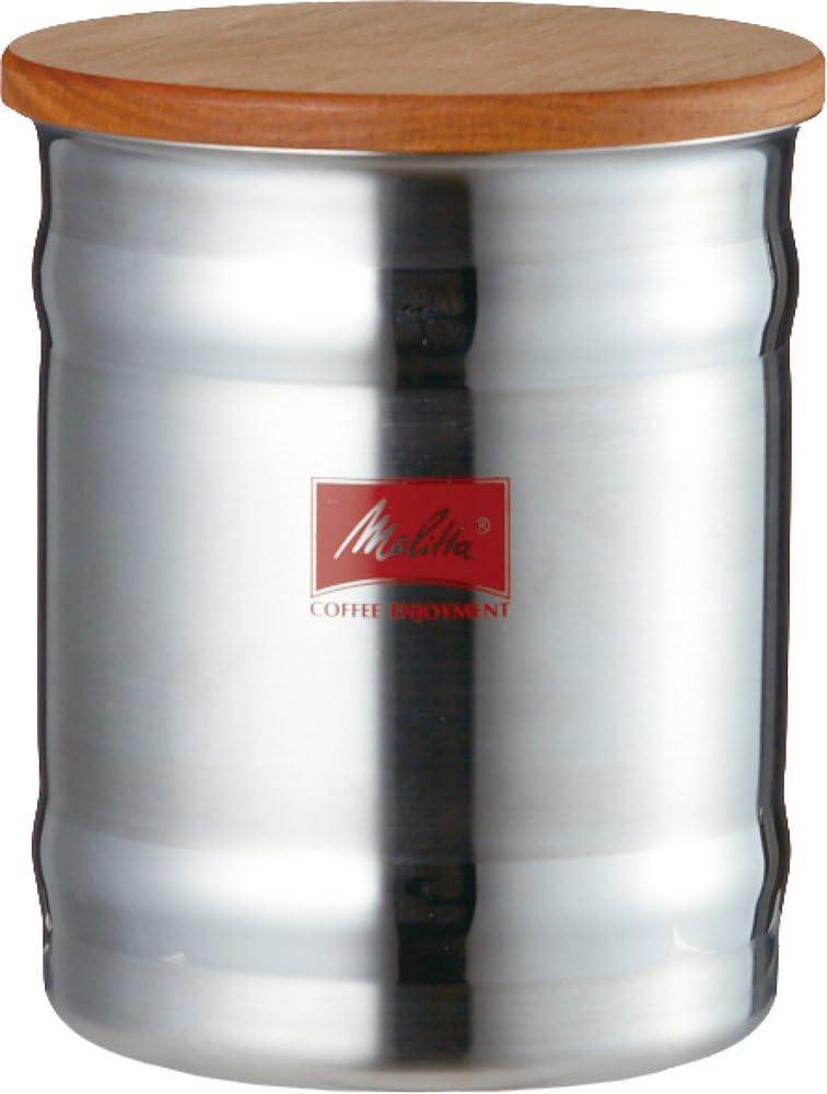 メリタ Melitta キャニスター コーヒー ステンレス製 800ml コーヒー豆 約200g さくら MJ-2161