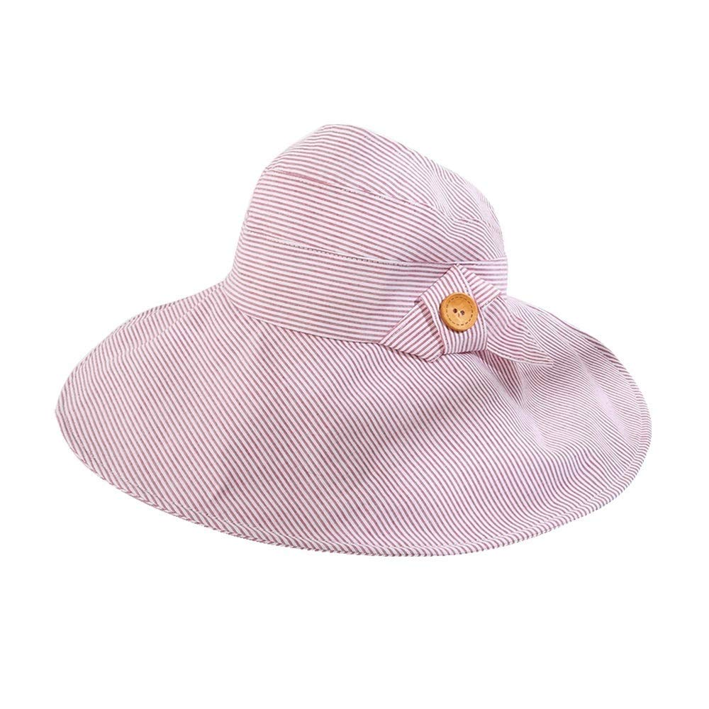 Kylinmmz Sun Hat Wide Brim Fishing for Women Ponytail Packable Sun Protection for Hiking Hunting Camping Anti-UV (Color : A) by Kylinmmz