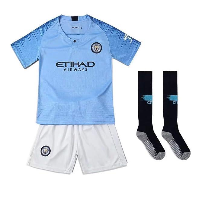 Camisetas de Fan New Season Manchester City Juego de fútbol para ...