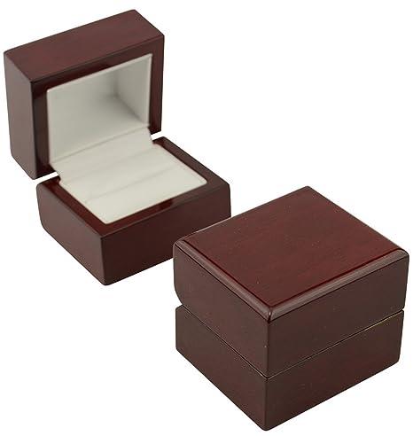 Wooden ring box diy