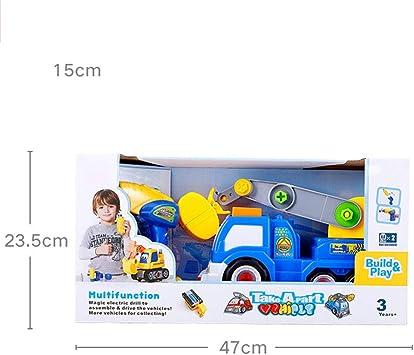 Faironly DIY – Juguete de Auto para niños con Taladro eléctrico ...
