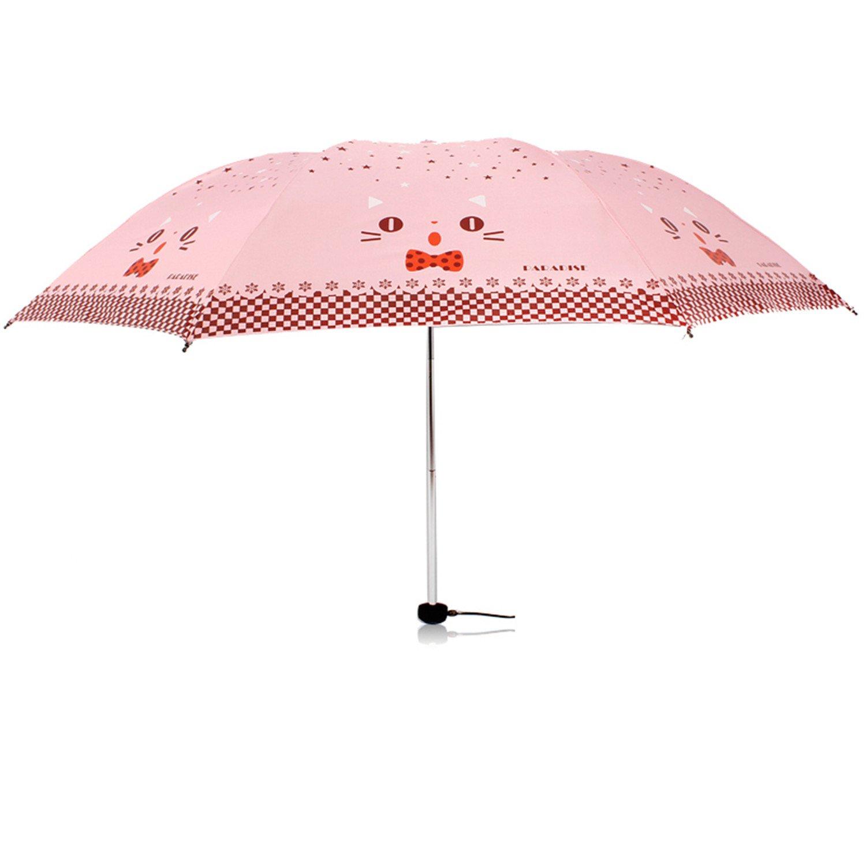 Amazon.com : Reinhar Mini Folding Umbrella Rain Women Black Paraguas Plegable Parasols Adult Beach Sun Anti Uv Compact Umbrella Windproof Purple : Sports & ...