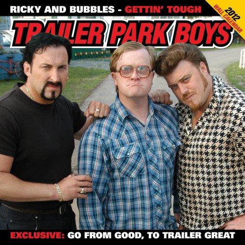 2012 Trailer Park Boys 16 Month Wall  calendar (Trailer Park Boys Calendar compare prices)