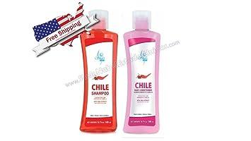 Amazon.com: Champú y Acondicionador de Cabello Chile Kit ...