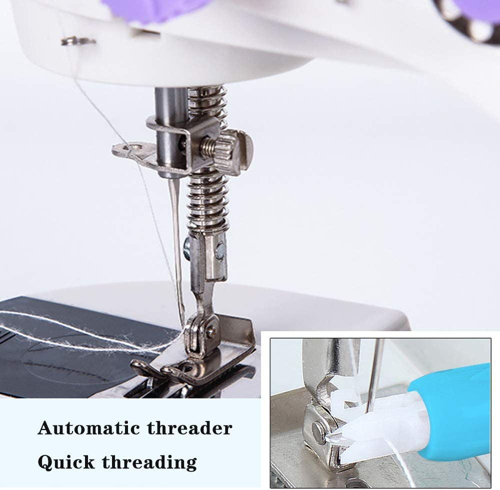 Contican Household Sewing Machine Automatic Threader Threader Needle Needle Needle Changer Sewing Tool Old Threader Blue