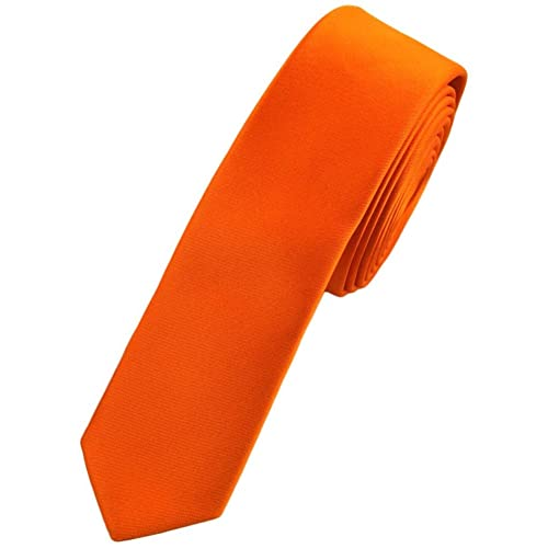 New Plain Coloured Skinny Ties 25 Colours Available. Handmade. Wedding, Fashion *UK