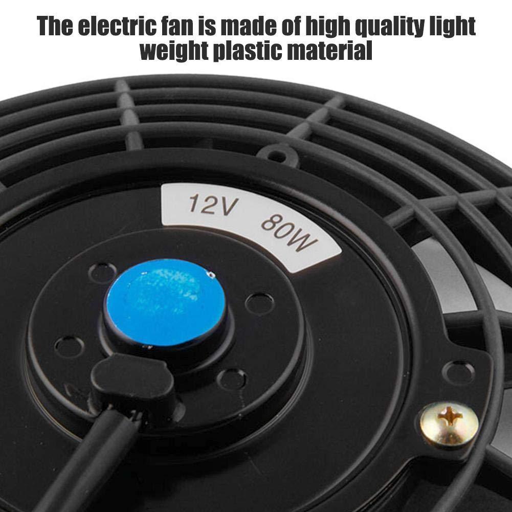 Ventola di Raffreddamento per Auto con Ventola Elettronica per Auto a 7 Pollici per Il Raffreddamento Estivo Ventola di Raffreddamento per Auto elettrica