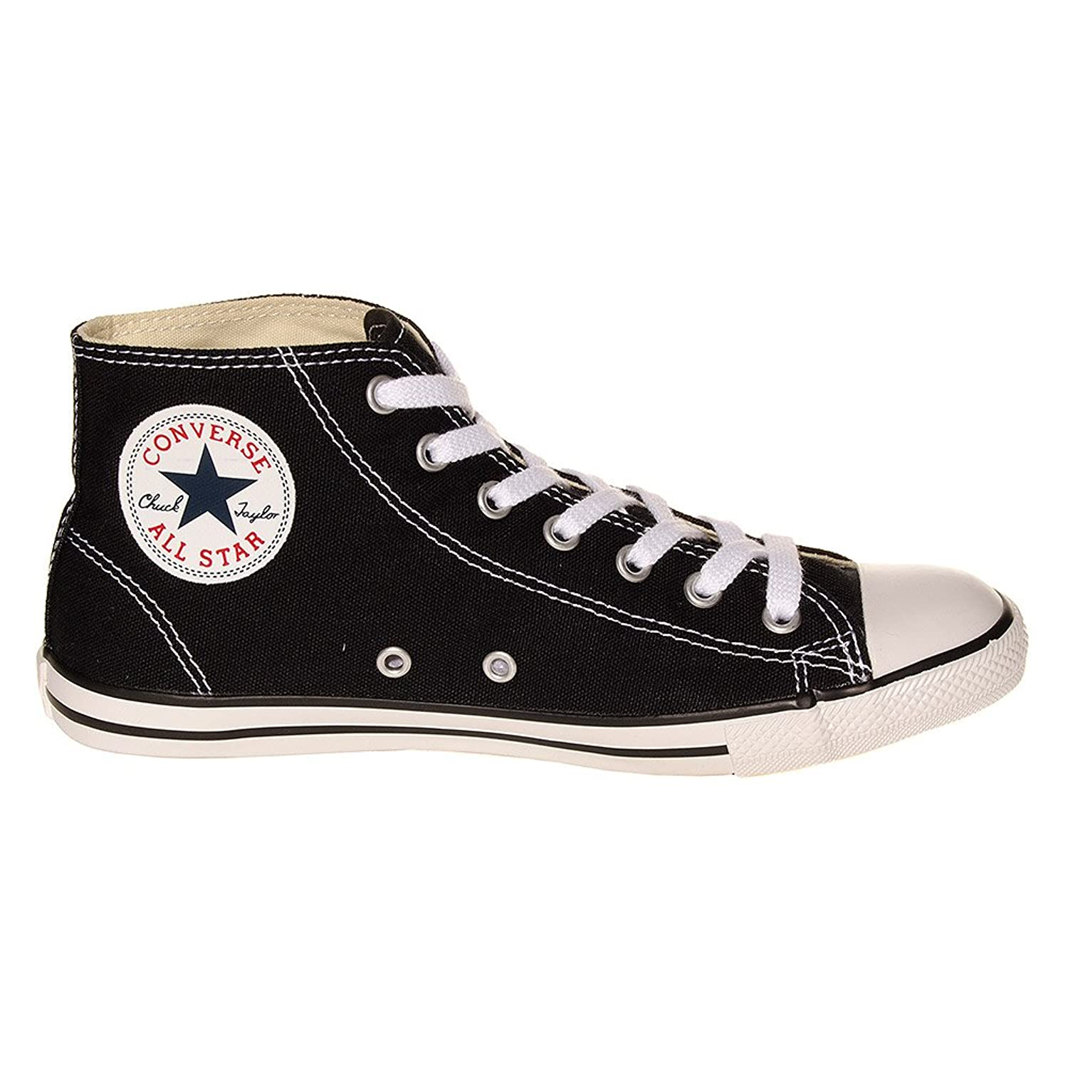 Converse All Stars Dainty High Top Boots (Black)