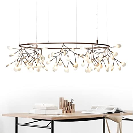 Simple And Modern Branches Firefly Chandelier Creative Personality Scandinavian Living Room Dining Lighting
