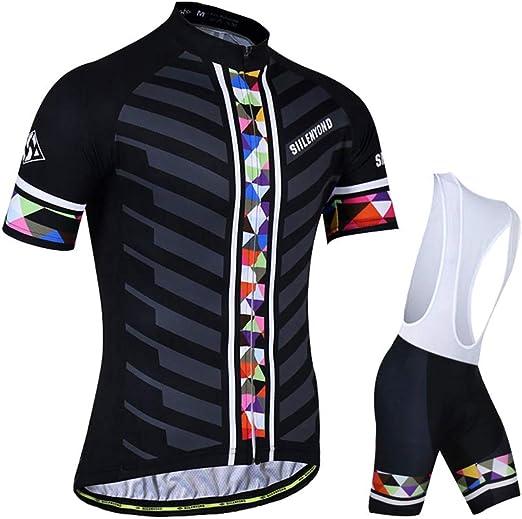 SXFZC Ropa de Ciclismo, Trajes de pantalón, Bicicleta de Verano ...
