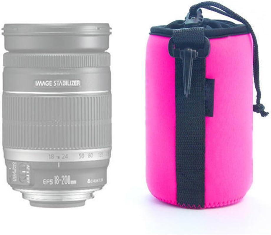 Dengpin Rose Neoprene Soft Camera DSLR SLR Lens Bag Pouch Case Cover for Nikon Sony Pentax Olympus Panasonic Canon Size S M L XL 4PCS
