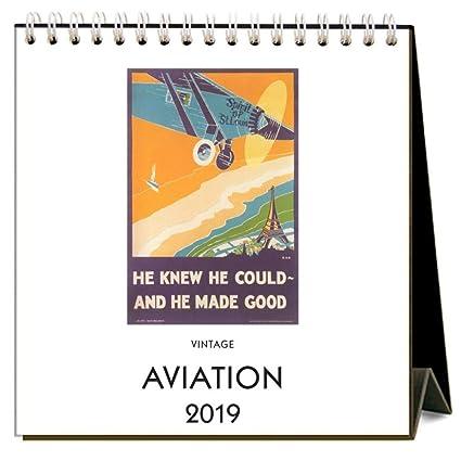 Easel Desk Calendar 2020 Amazon.: 2020 Aviation Easel Calendar, by Found Image Press